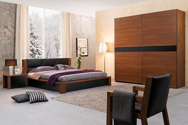 胡桃木寝室系列2